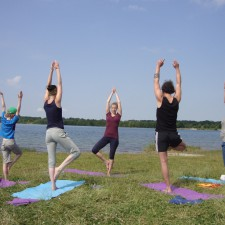 Yoga mit Carmen am See