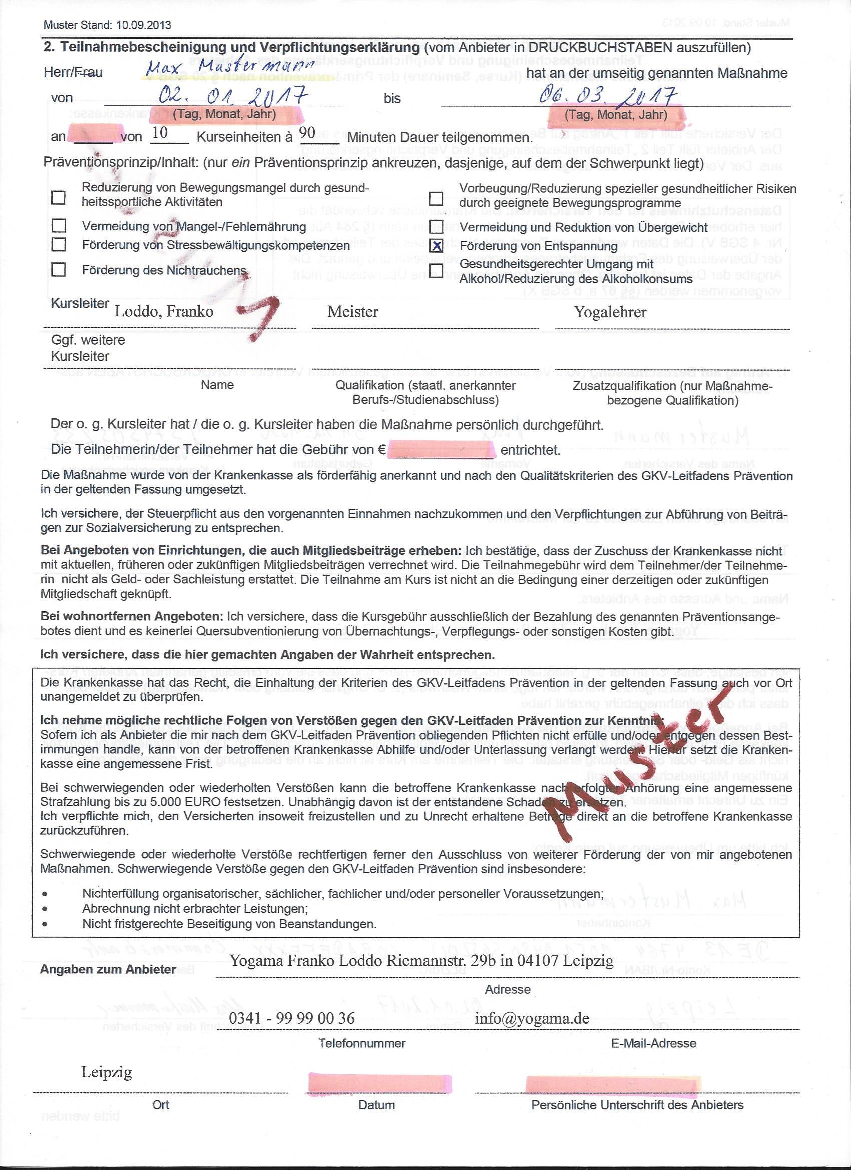 Mustervordruck-GKV-Bescheinigung-Seite2
