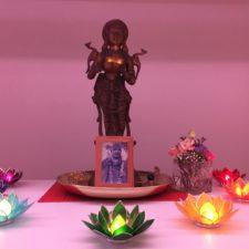 Altar zum Lichterfest Divali